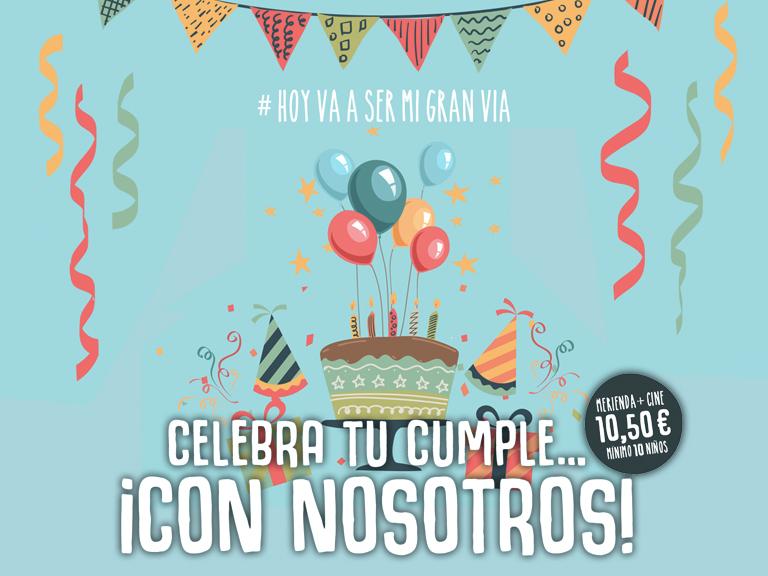 ¡Celebramos tu cumpleaños!