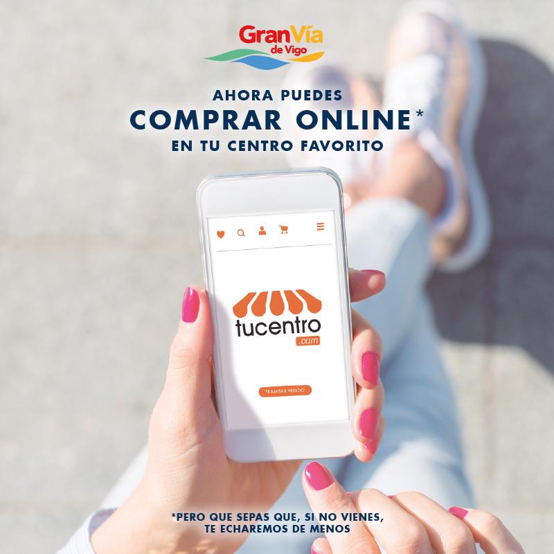Ya puedes comprar online en Gran Vía de Vigo