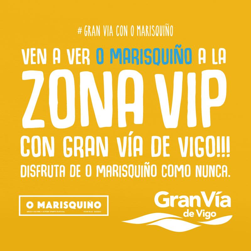 Gana uno de los 5 pases VIP para O Marisquiño 2017 válidos para dos personas o uno de los tres lotes de productos oficiales