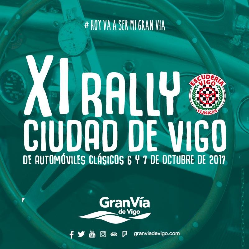 XI edición del Rally Ciudad de Vigo de Clásicos Deportivos