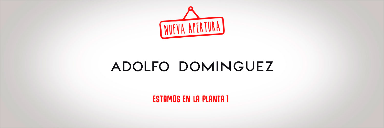 Centro comercial en vigo gran v a de vigo for Adolfo dominguez web corporativa