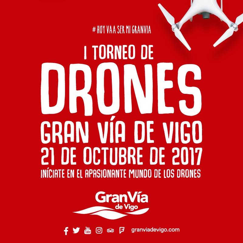 I TORNEO DE DRONES GRAN VÍA DE VIGO