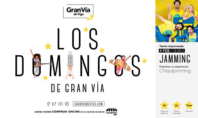 LOS DOMINGOS DE GRAN VÍA