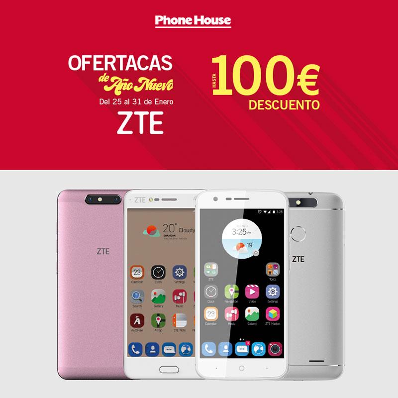 Nuevo ZTE con descuentos en The Phone House