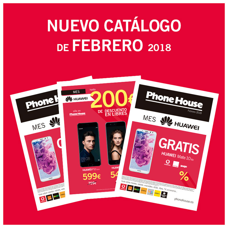 Nuevo catálogo en The Phone House: Febrero
