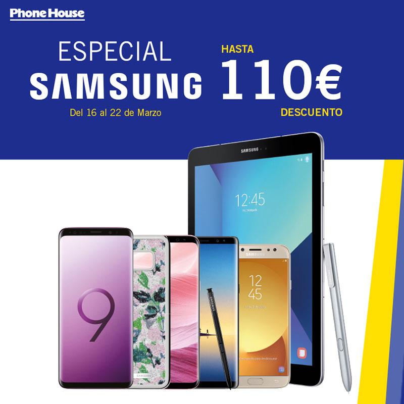 Semana especial Samsung en The Phone House