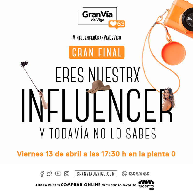 GRAN FINAL DEL CONCURSO DE INFLUENCERS
