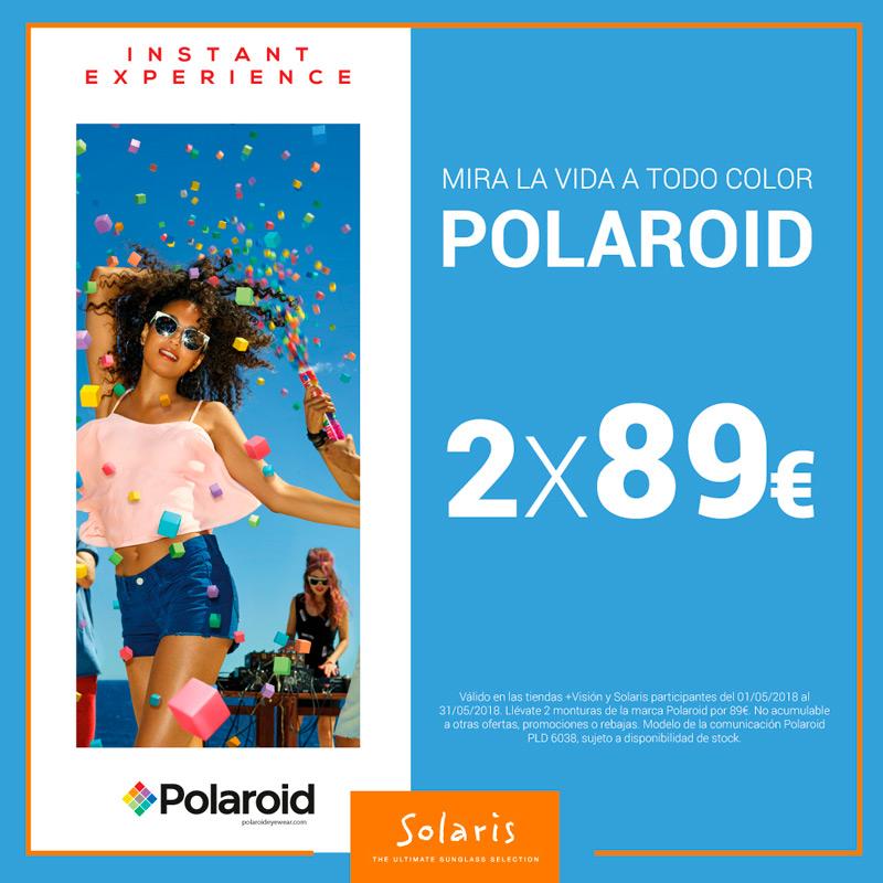 Mira la vida a todo color con Polaroid