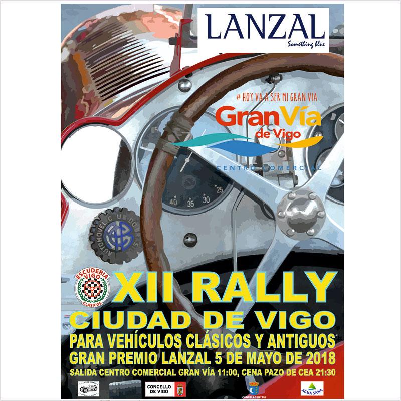 XII edición del Rally Ciudad de Vigo de vehículos clásicos y antiguos