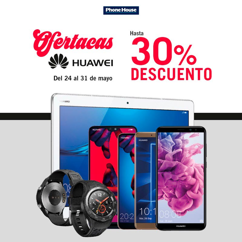 Especial Huawei en The Phone House