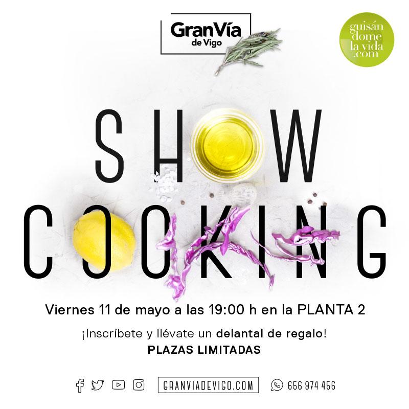 Llega el cuarto Showcooking de Gran Vía de Vigo