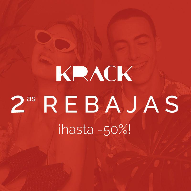Segundas rebajas en Krack