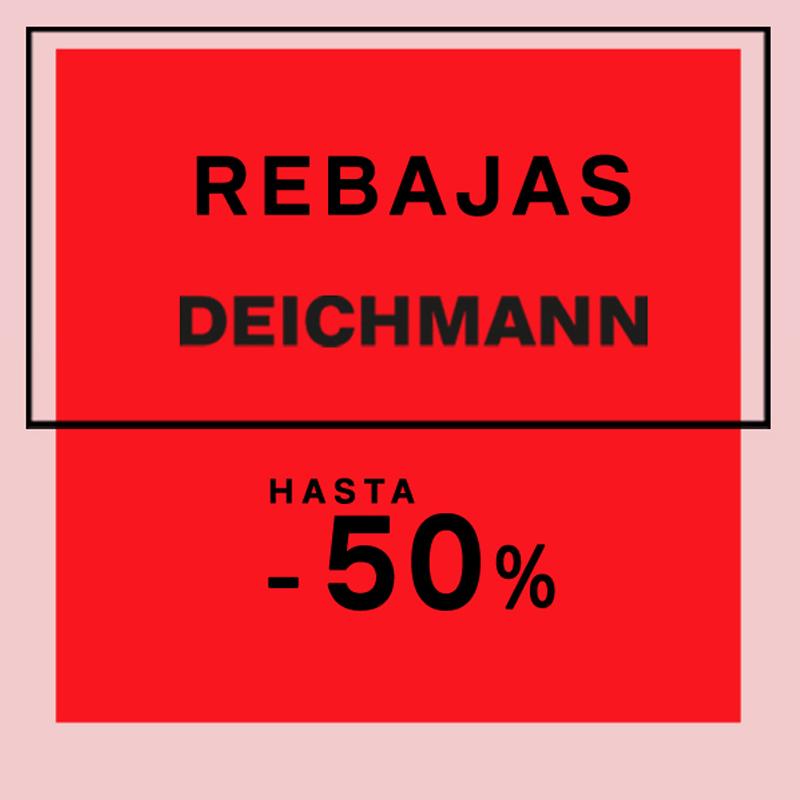 Aprovecha las Rebajas en Deichmann
