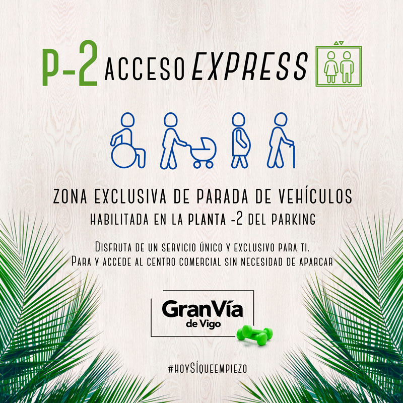 Acceso express parking -2