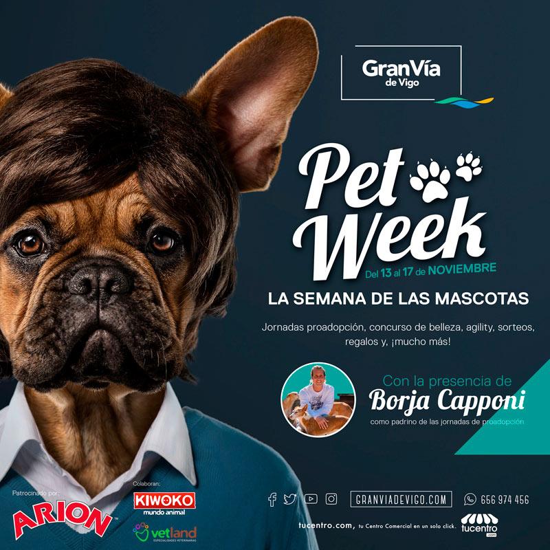 Llega la PET WEEK al Centro Comercial Gran Vía de Vigo