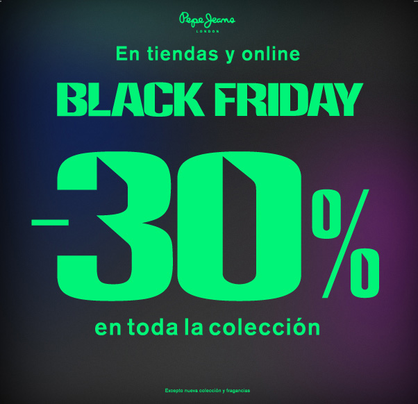 PEPEJEANS BLACK FRIDAY