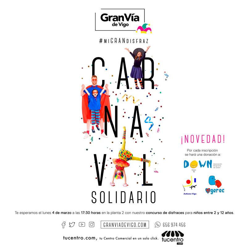 Disfruta de nuestro Carnaval divertido y solidario 🎉🎭