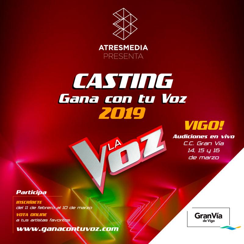 El Gran Vía de Vigo busca las mejores voces 🎤⭐