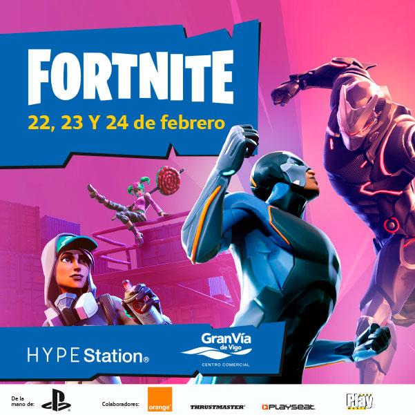 Campeonato Fortnite en nuestra Hype Station