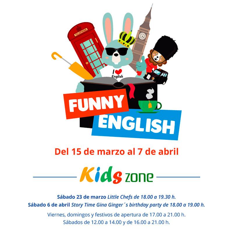 Aprende inglés en la Kids Zone
