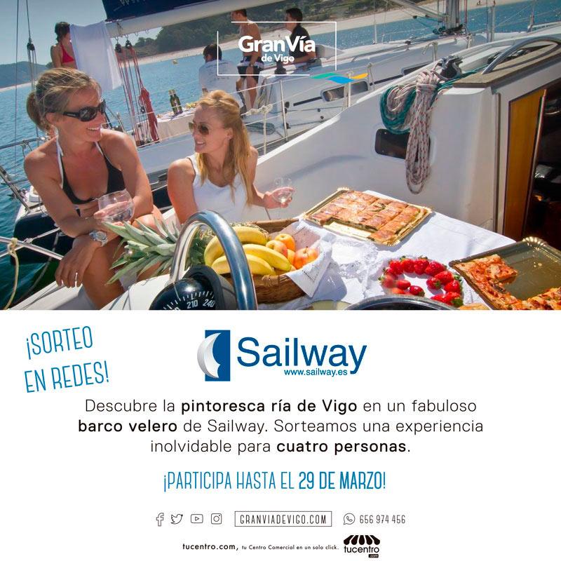 NUEVO SORTEO MOLÓN – Navega por la ría de Vigo gracias a Sailway
