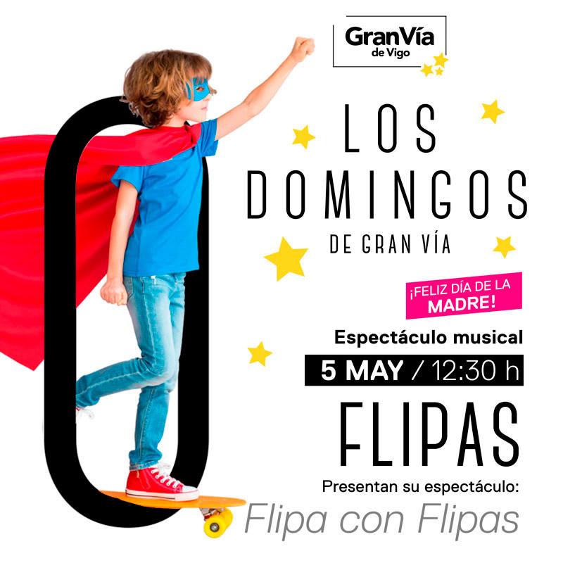 Flipa con flipas- Nuevo espectáculo Los Domingos de Gran Vía