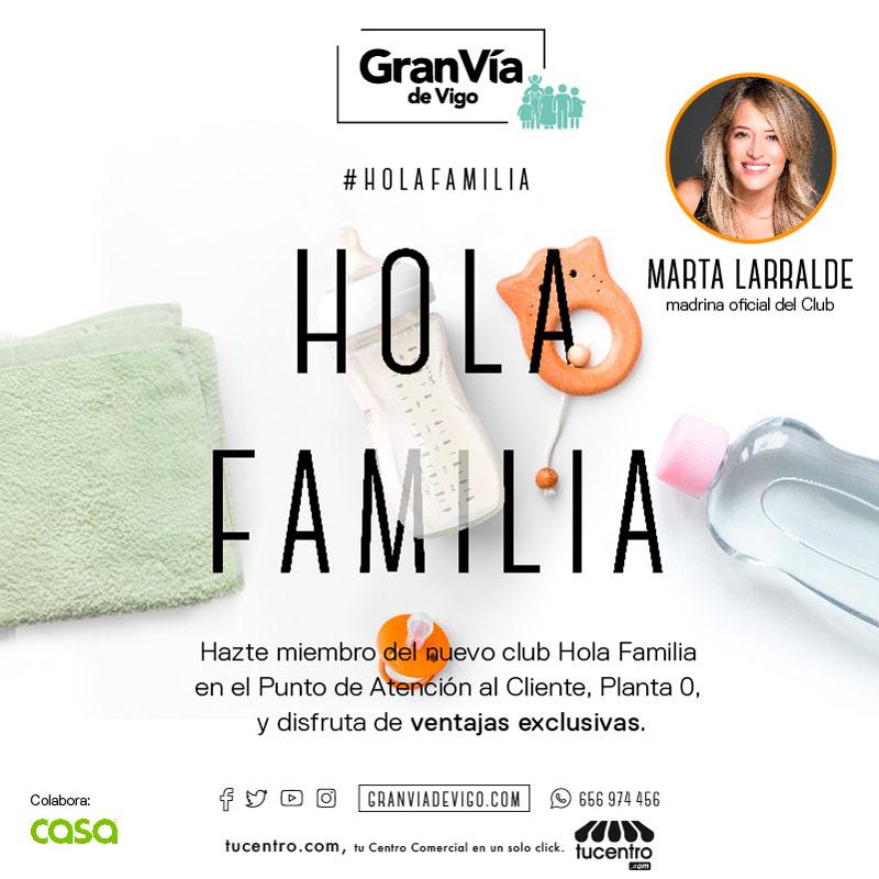 Club exclusivo- HOLA FAMILIA