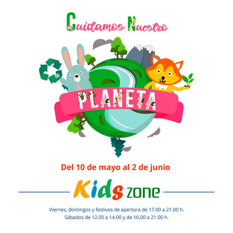 Cuidamos nuestro planeta en nuestra Kids Zone