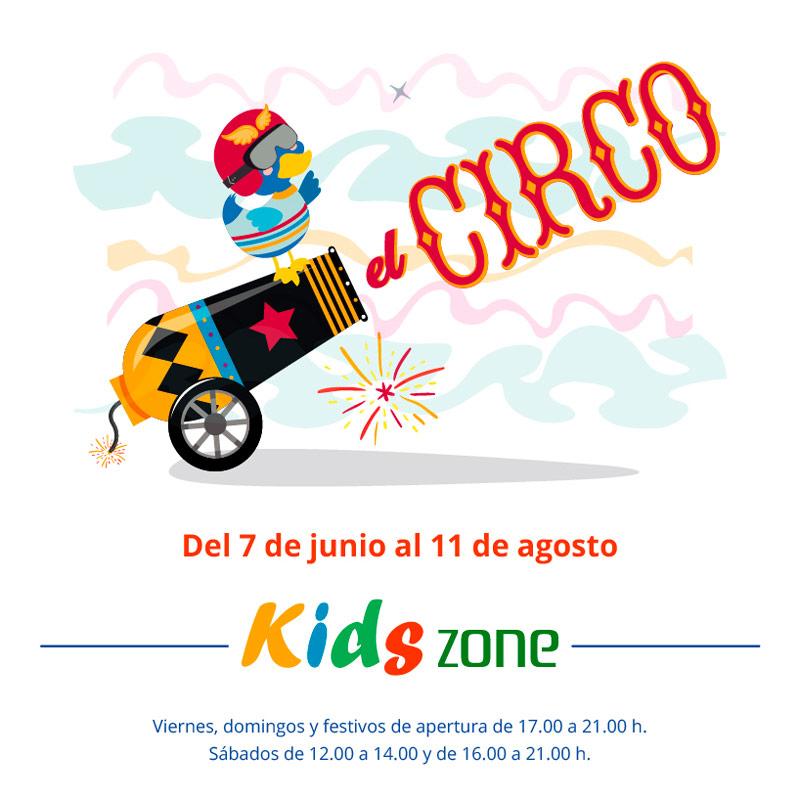 ¡La función comienza en nuestra Kids Zone!