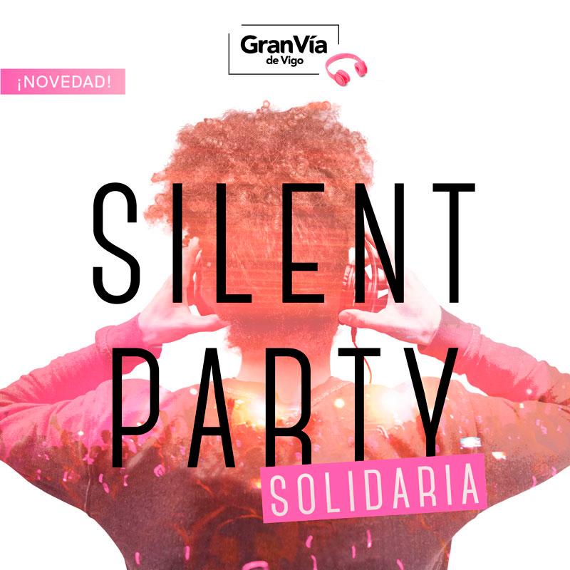 Primera Silent Party Solidaria Gran Vía de Vigo🎧🎵