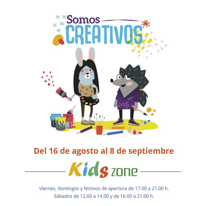 ¡Deja volar tu imaginación en nuestra Kids Zone!