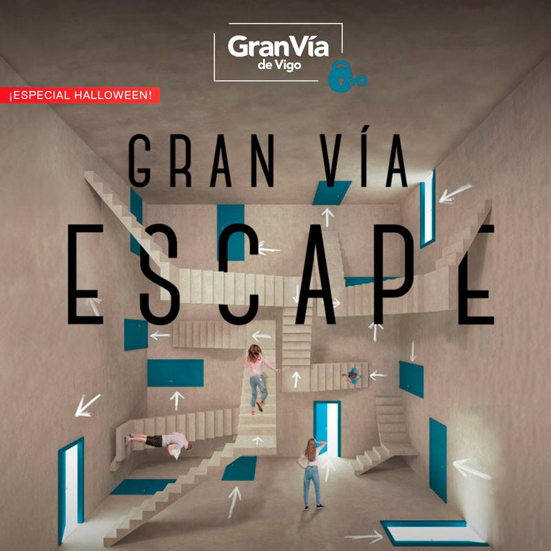 Llega Gran Vía Escape ¿te atreves? 🎃💀😱🗝