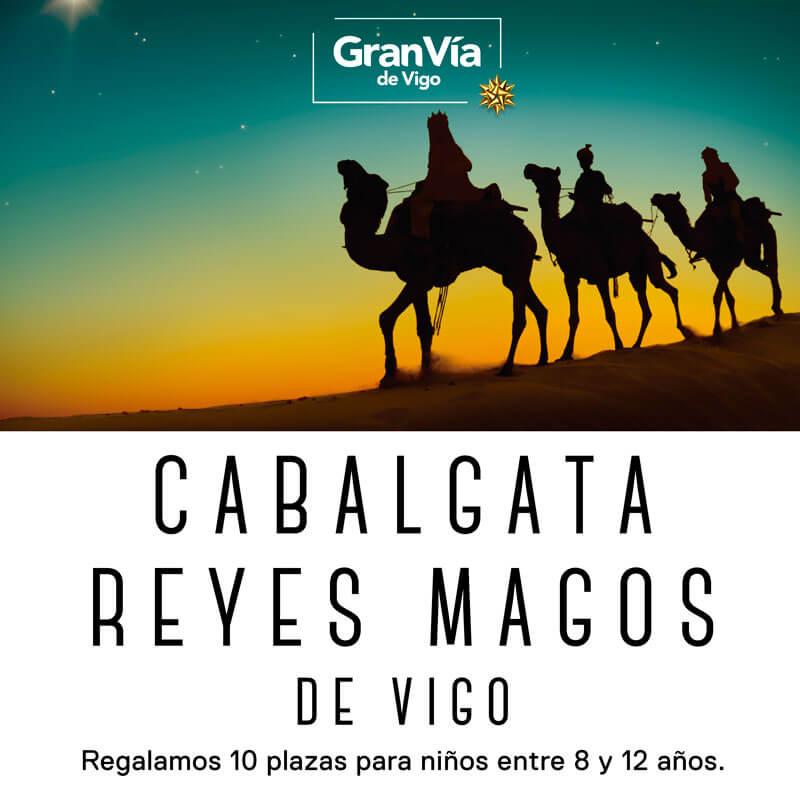 Sorteamos 10 plazas para la cabalgata de Reyes Magos de Vigo