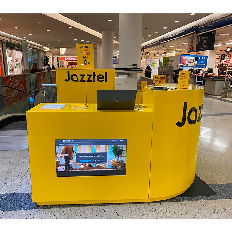 Promociones Jazztel aterriza en Gran Vía de Vigo Gran Vía de Vigo