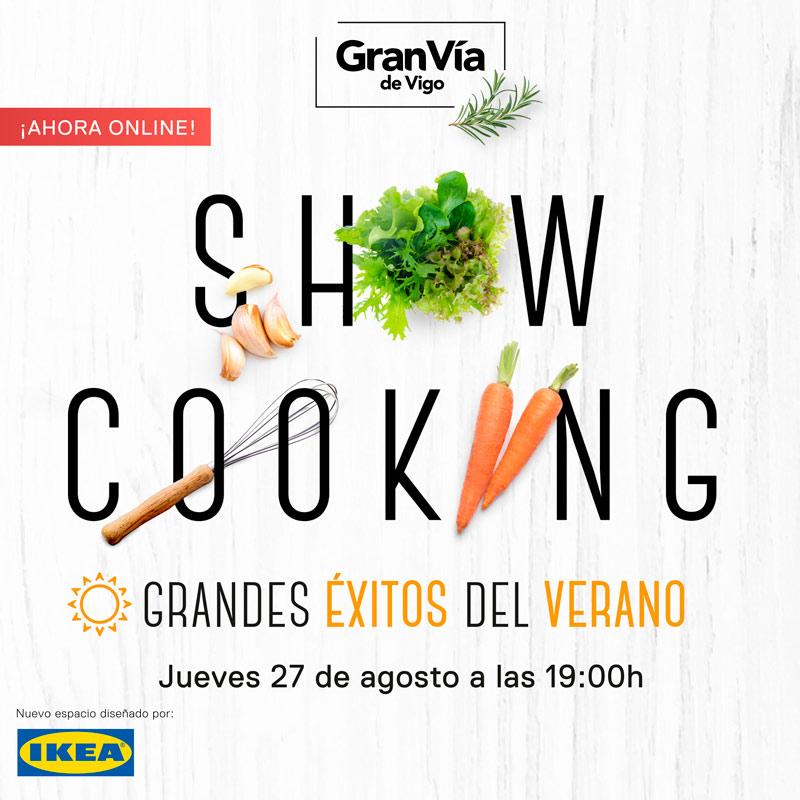 Showcooking Online Gran Vía de Vigo