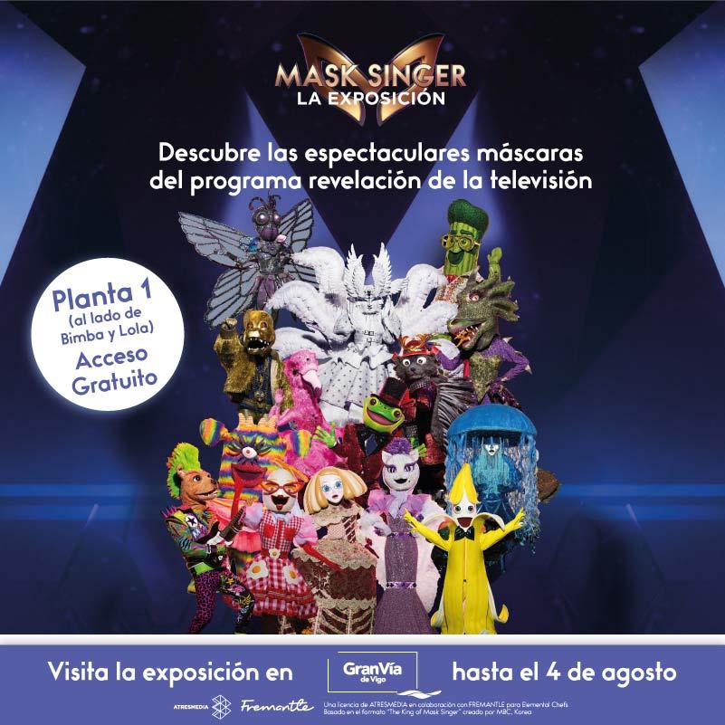 ¡Mask Singer llega a Gran Vía de Vigo! 🎭👏