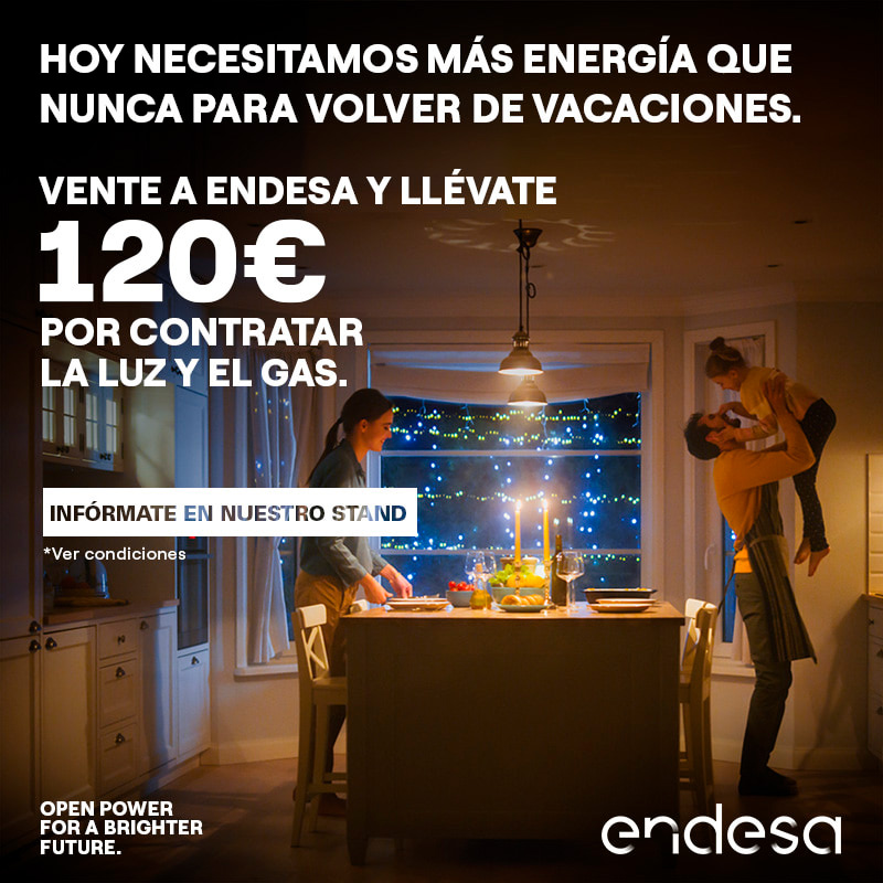 Promociones Llévate 120€ por contratar la luz y el gas Gran Vía de Vigo